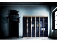 Freestanding wooden bookcase BERENICE | Bookcase - Morelato
