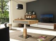 Height-adjustable coffee table LIFT - TEAM 7 Natürlich Wohnen