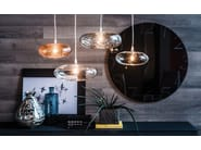 Borosilicate glass pendant lamp LIM - Cattelan Italia