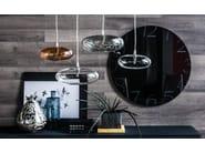 Borosilicate glass pendant lamp LIM-Z - Cattelan Italia