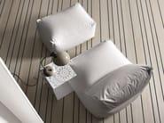 Upholstered fabric pouf LIMBO | Pouf - PIANCA