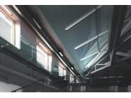 Recessed extruded aluminium ceiling lamp LINE F.3003 - Francesconi & C.