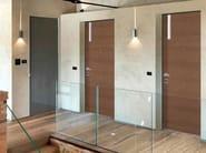 Armoured door panel LINEA - Alias Security Doors
