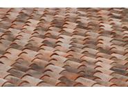 Clay bent roof tile Linea Rossa - FORNACE LATERIZI VARDANEGA ISIDORO