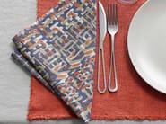 Linen and cotton napkin LITE CAOS - Society Limonta