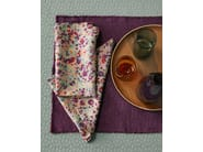 Linen and cotton napkin LITE DROP - Society Limonta