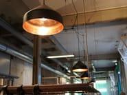 Lampada a sospensione in rame LLOOP | Lampada a sospensione in rame - Vij5