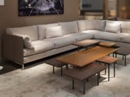 Corner sectional fabric sofa LODGE | Corner sofa - Canapés Duvivier