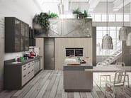 Loft cucina con isola collezione sistema by snaidero design michele marcon - Mobili snaidero majano ...