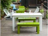 Garden bench LOLLYGAGGER PICNIC | Garden bench - Loll Designs