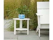 Recycled plastic coffee table LOLLYGAGGER | Garden side table - Loll Designs
