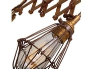 Lonn Scissor Cage Wall Light
