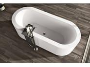 Clad undermount bathtub LOOK - MAKRO