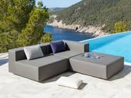 Corner sectional garden sofa LOOP | Corner sofa - April Furniture