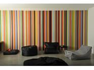 Upholstered polyester pouf LOUNGE - Atipico