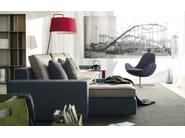 Sectional fabric sofa LOUNGE MIX 01 - Calligaris