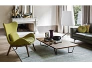 Rectangular coffee table for living room LOW-T - Calligaris