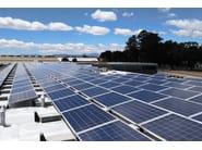 Supporto per impianto fotovoltaico in alluminio LSTP 100 | Supporto per impianto fotovoltaico - RODIGAS