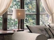 Lampada da tavolo in tessuto LUCILLA | Lampada da tavolo - Fratelli Longhi