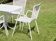 Garden chair with armrests LUCKY | Chair - Talenti