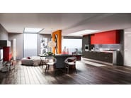 Fitted kitchen with handles LUNA - ARREDO 3