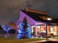 LED RGB aluminium Floor Light LUNAR RGB - LED BCN Lighting Solutions
