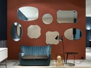 Wall-mounted bathroom mirror LUXOR - Antonio Lupi Design®