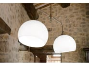 Glass pendant lamp FARMACIA | Direct-indirect light pendant lamp - Aldo Bernardi