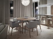 Round wooden dining table M8003 - MINT FACTORY
