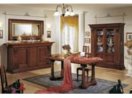 Vetrina in legno massello MACCHIAVELLI | Vetrina in legno - Arvestyle