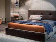 Fabric double bed MADAMA - Lema