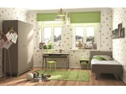 MDF single bed for kids' bedroom MADAVIN   Bed - Mathy by Bols
