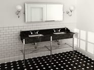 Console double marble washbasin MADISON | Double washbasin - Devon&Devon