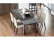 Tavolo allungabile in legno e vetro MAESTRO - Calligaris