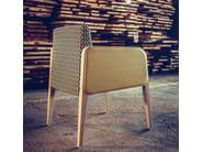 Fabric easy chair with armrests MAGNA   Easy chair with armrests - J. MOREIRA DA SILVA & FILHOS, SA