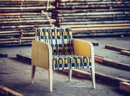 Fabric easy chair with armrests MAGNA | Fabric easy chair - J. MOREIRA DA SILVA & FILHOS, SA