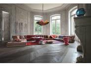 Sectional fabric sofa MAH JONG MISSONI HOME - ROCHE BOBOIS