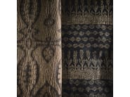 Jacquard linen fabric with graphic pattern MAHARASTRA - KOHRO