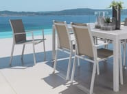 Garden chair with armrests MAIORCA | Chair - Talenti