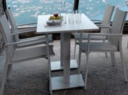 Rectangular aluminium garden table MAIORCA | Rectangular table - Talenti