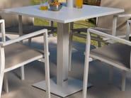 Square aluminium garden table MAIORCA | Square table - Talenti
