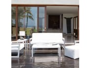 Divano da giardino a 3 posti per contract MALDIVES 23183 - SKYLINE design