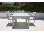 Square table MALDIVES 22987 - SKYLINE design