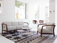 Upholstered 3 seater fabric sofa MALENA   Sofa - STUA
