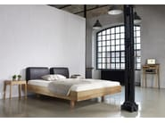 Double bed with upholstered headboard MAMMA AIR   Bed with upholstered headboard - sixay furniture