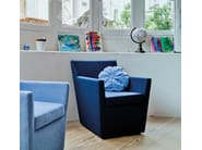 Cuscino rotondo in tessuto per divani MANDARINAS - SANCAL
