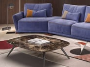 Low marble coffee table for living room MARBELLA | Coffee table for living room - ITALY DREAM DESIGN - Kallisté