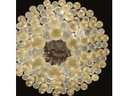 Contemporary style LED handmade glass pendant lamp MARIMBA | Lampada in vetro soffiato - MULTIFORME