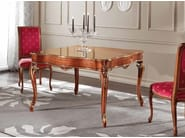 Rectangular solid wood table MARY | Table - Arvestyle