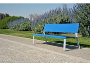 Steel Bench MATKA - LAB23 Gibillero Design Collection